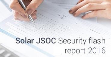JSOC Security flash report 2016